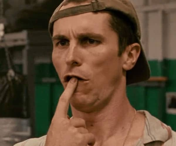 L'acteur Christian Bale dans Fighter 2010
